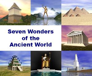7 Ancient Wonders Image