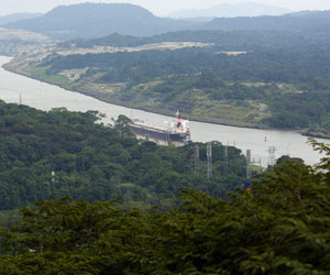image of the Panama Canal
