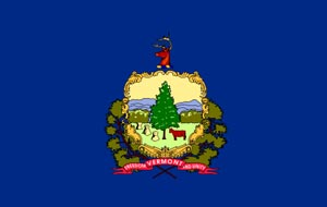 state flag of vermont image
